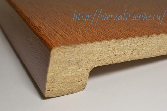 структура подоконника Верзалит древесная на 75%
