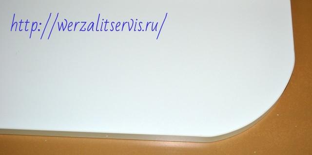 Радиусный подоконник Werzalit цвет полярно-белый №400
