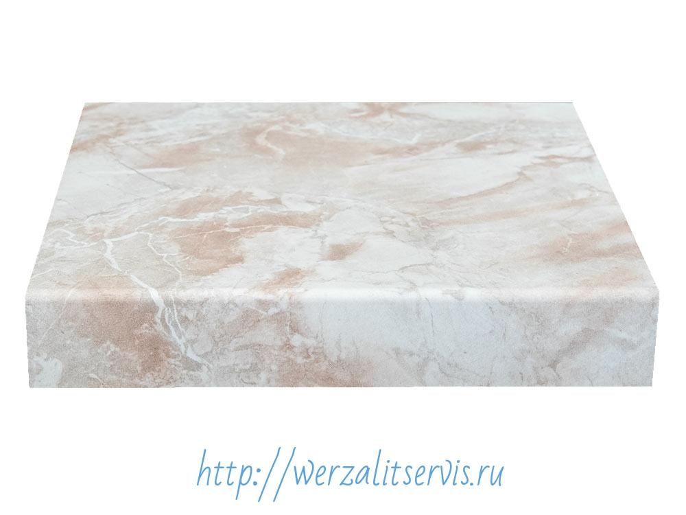 подоконник Werzalit светлый мрамор №008